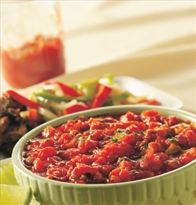 Roasted Tomato-Chipotle Salsa
