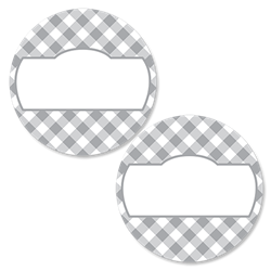 Gingham - Pewter