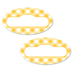 Gingham - Yellow