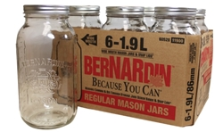 Regular Mason Jar/WM Lid 1.9L