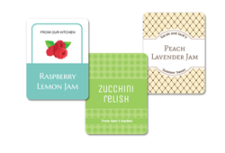 9 Rectangle Canning Labels