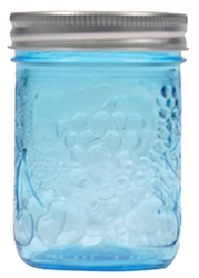 250 ml Embossed Mason Jars