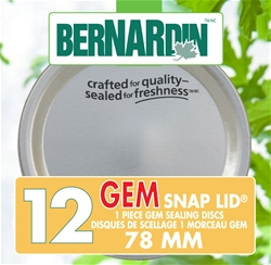 GEM 78 SNAP LID sealing disc