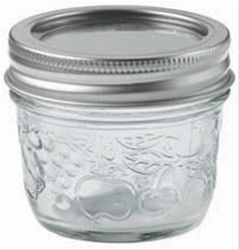 Decorative Bernardin Jar 125 ml