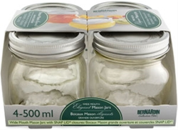 Collection Elite Wide Mouth Bernardin Jar 500 ml