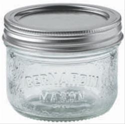 Decorative Mason Jar 250 ml Wide Mouth
