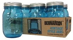 Limited Edition Blue Vintage Jar