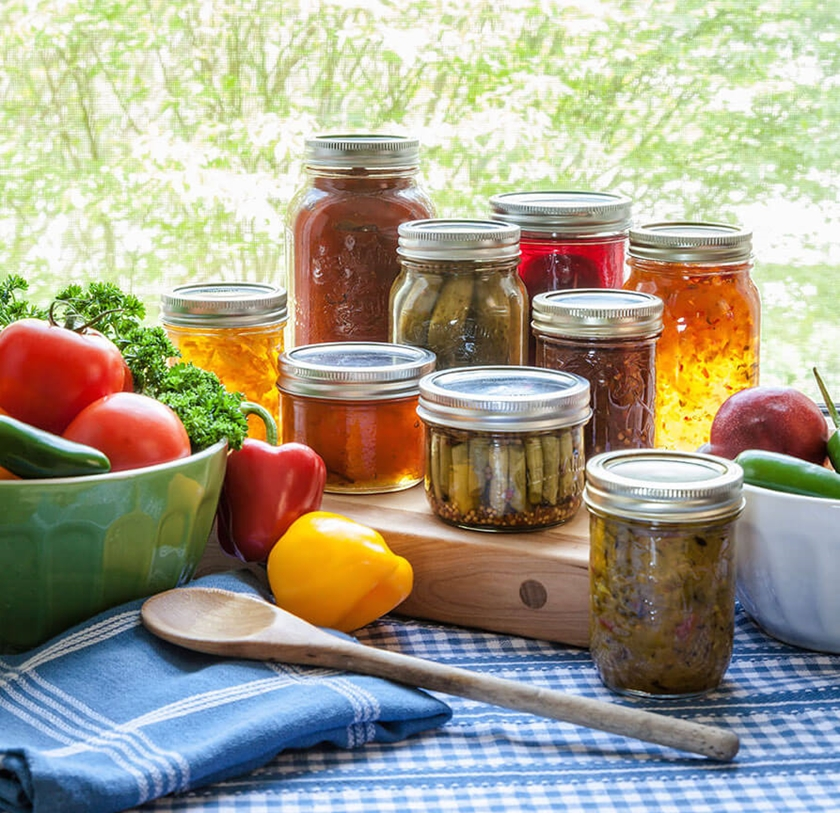Decorative Vegetable Jars: Bernardin Home Canning: Everything You Need To Preserve